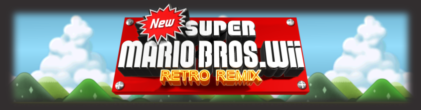 New Super Mario Bros Wii: Retro Remix