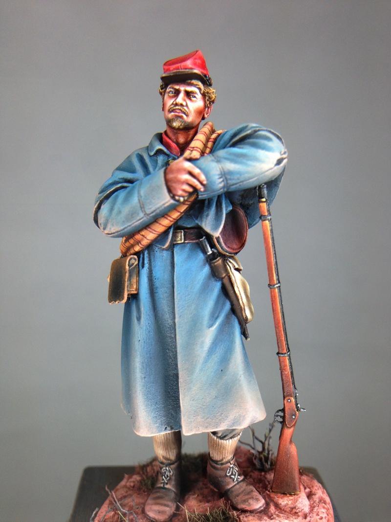 ARTILLEUR CONFÉDÉRÉ Virginia heavy artillery • 1864 Ac210