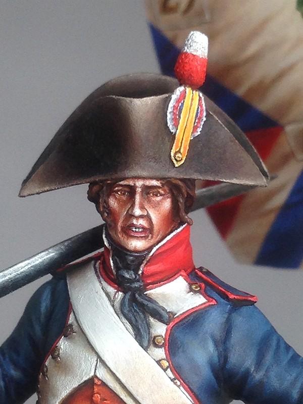 PORTE DRAPEAU 29e demi brigade 1794 - France Img_0817