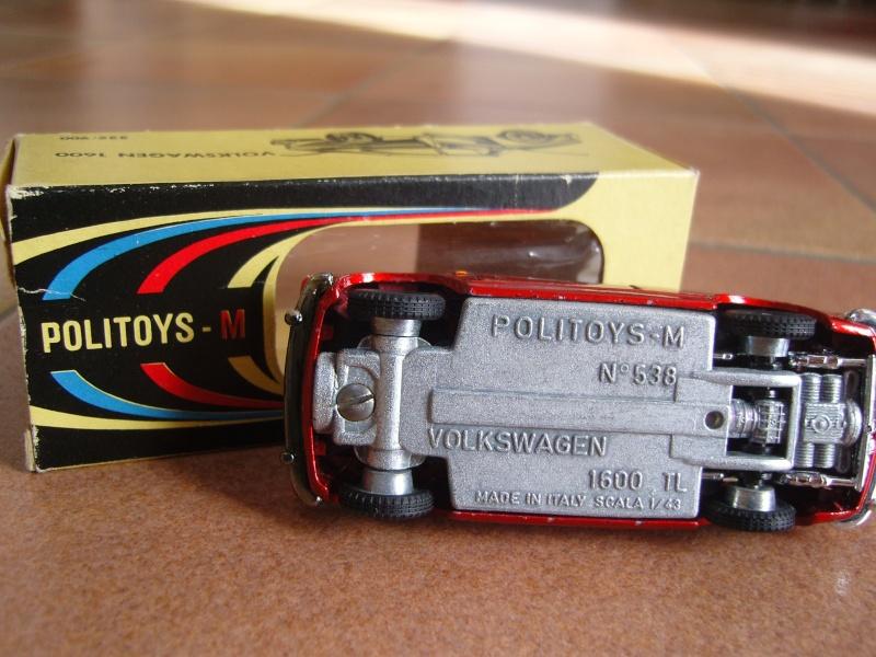 VW Cox et Type 3 POLITOYS Snc17321