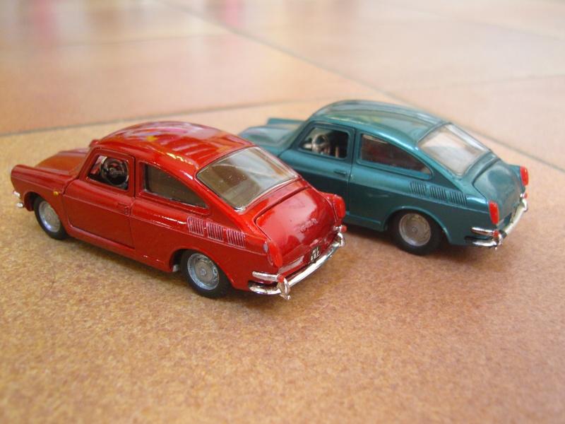 VW Cox et Type 3 POLITOYS Snc17323