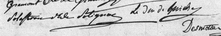 Lettres de la duchesse de Polignac à M. de Calonne Nouvel26