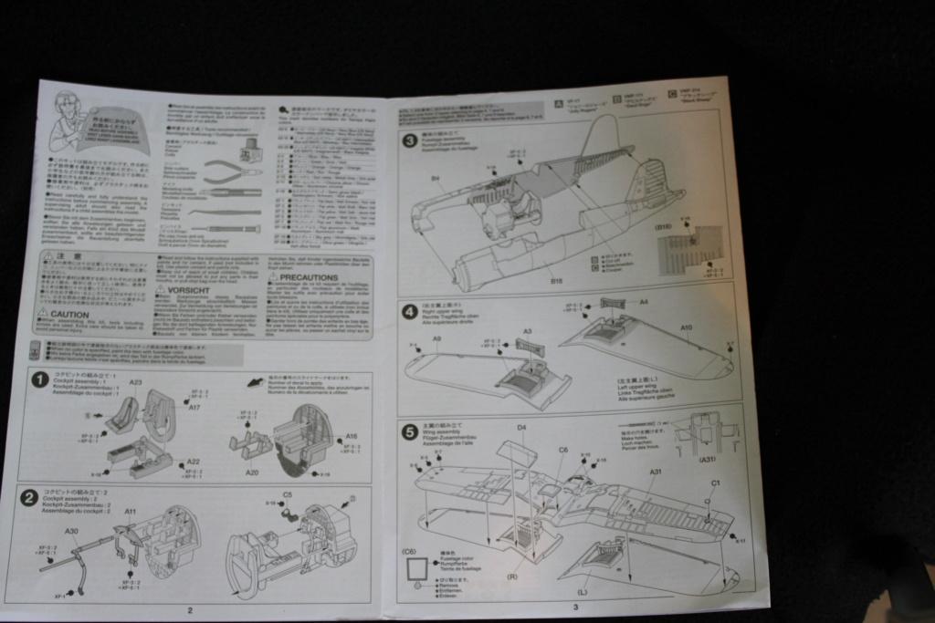 [Tamiya] F4U-1A corsair FINI Cimg_012