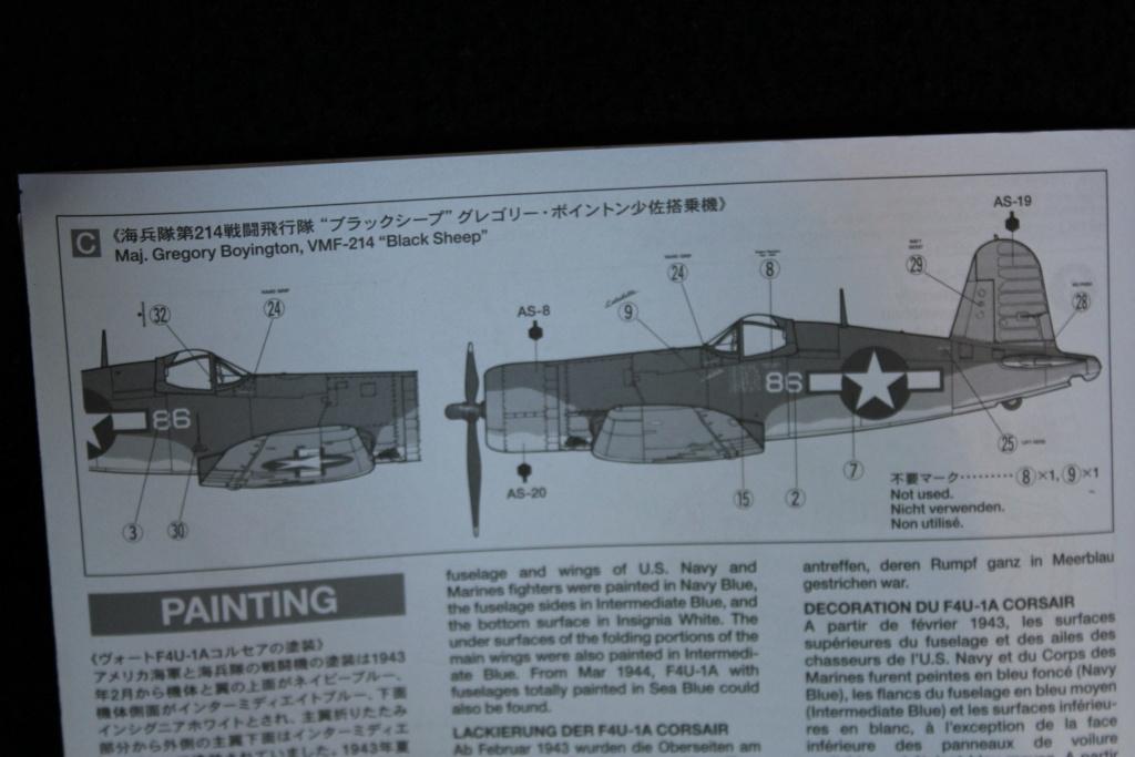 [Tamiya] F4U-1A corsair FINI Cimg_016