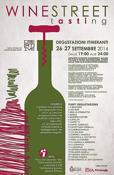 wine - WINE STREET ASTI DEGUSTAZIONI ITINERANTI 26-27 settembre Wine_l10