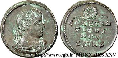Constantin I,   anépigraphe, retouchée? 28081010