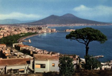 Une carte postale de Naples Napoli10
