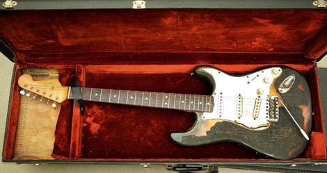 Ses guitares Astori10
