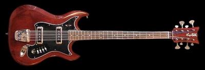 Ses guitares Hagstr10