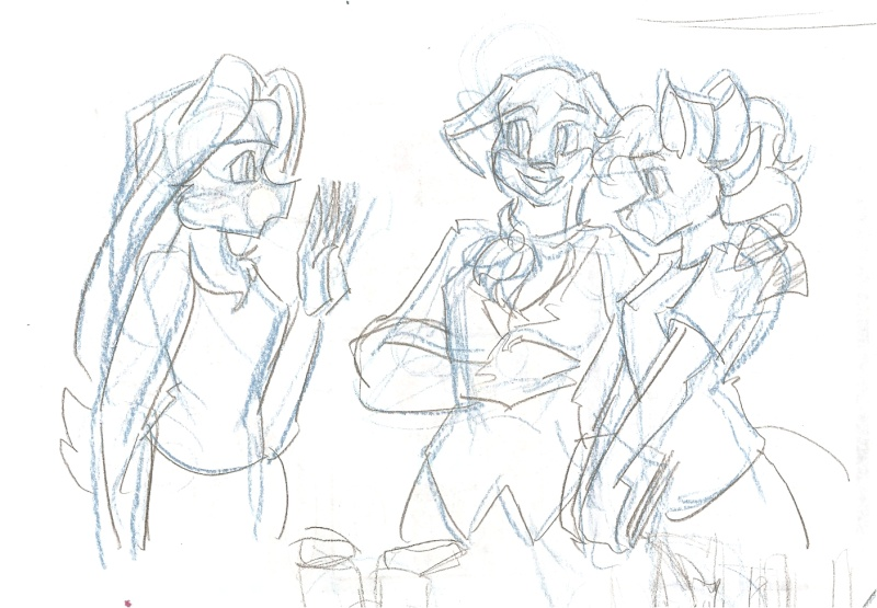 Furry Experience, Volume 1 Sketch11