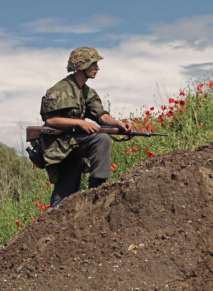 L'influence du camouflage allemand ww2, de nos jours. Champ_12