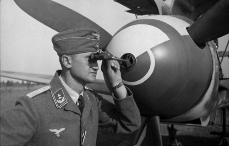 Les spécialistes de la Luftwaffe Me10