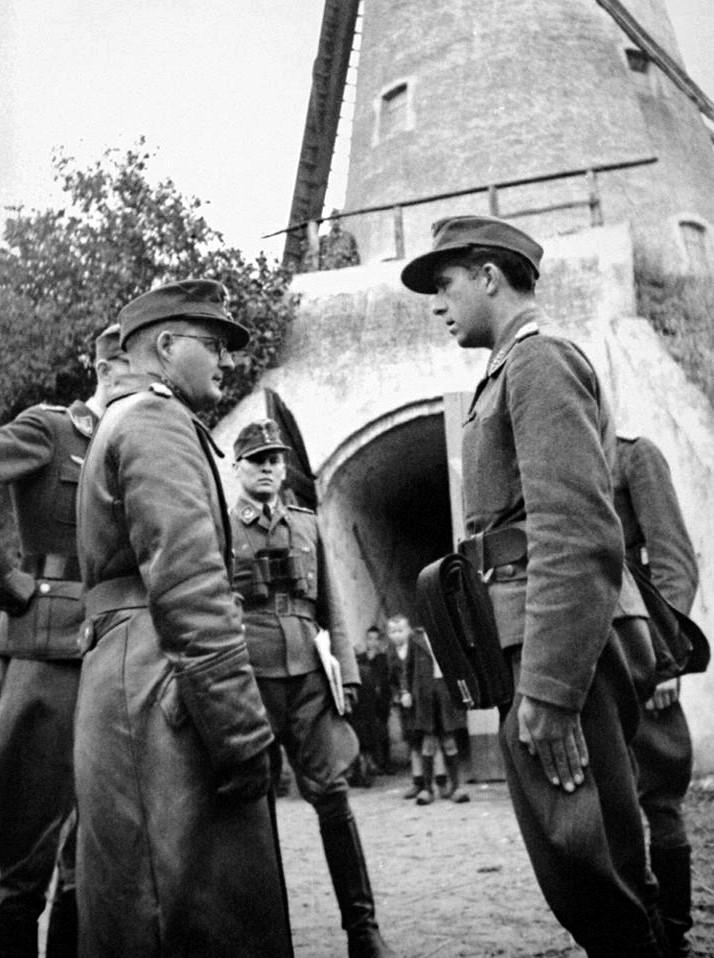Les troupes de la Luftwaffe lors de la bataille de Market Garden Mg10