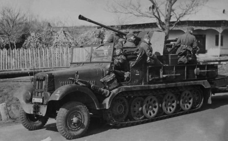 Véhicules divers affectés à la Luftwaffe - Page 3 Sdkfz10
