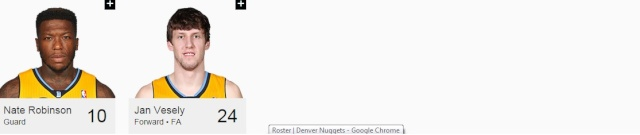 Effectifs 2014/15 Denver13