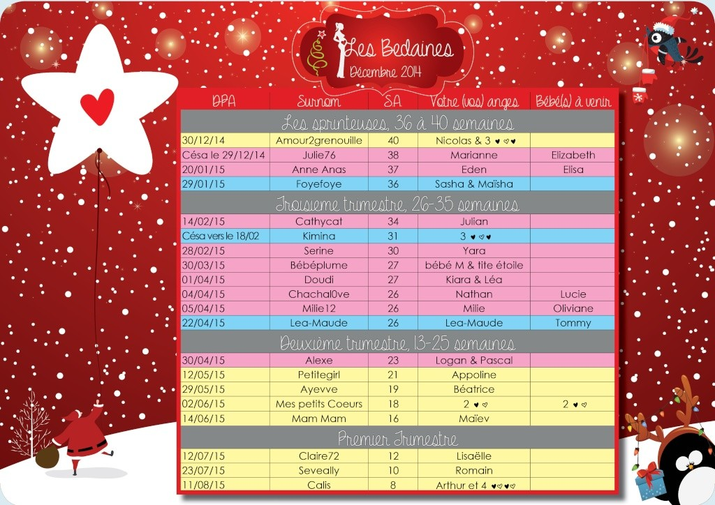 Tableau de Noël 2014 ( du 22 au 28/12) de nos bedaines couveuses  Tablo_23