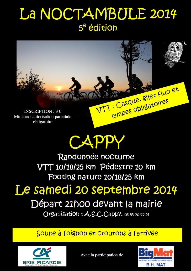 [80] CAPPY - Samedi 20 septembre 2014 - La Noctambule Affich10