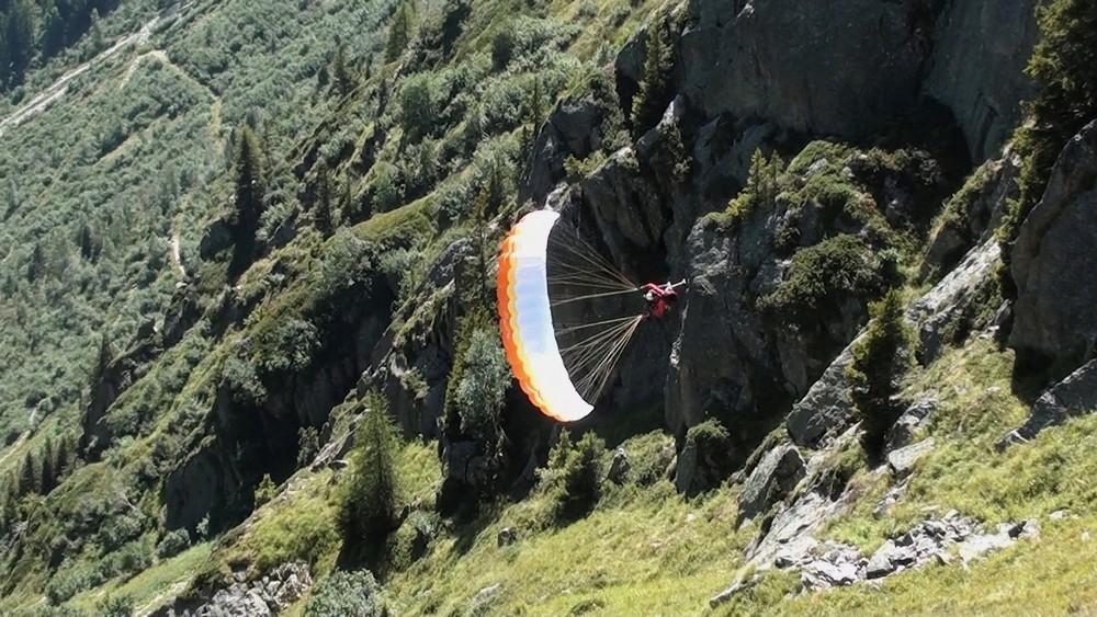 Première au Brévent en Speed Flying tandem... Et Benne ! Image314