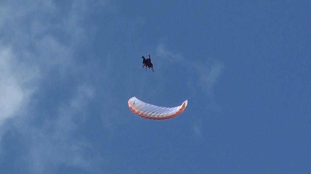 Première au Brévent en Speed Flying tandem... Et Benne ! Image513
