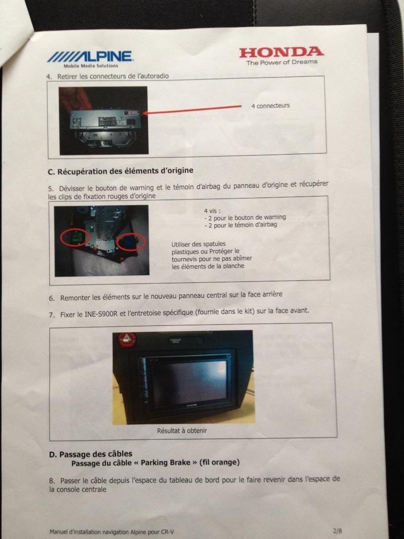 [crz][accessoire audio] ALPINE INE S900 R - Page 2 Img_0122