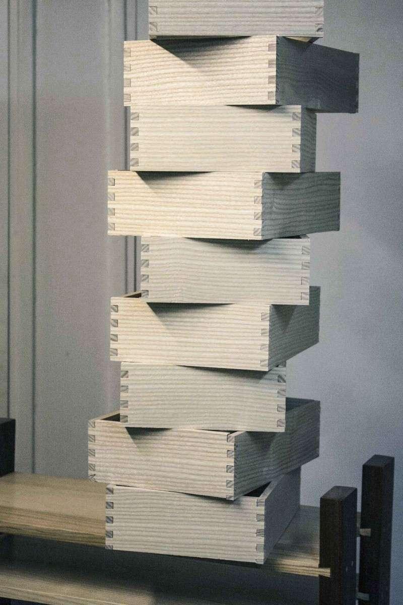 [Fabrication] Un meuble à 9 tiroirs Montag11