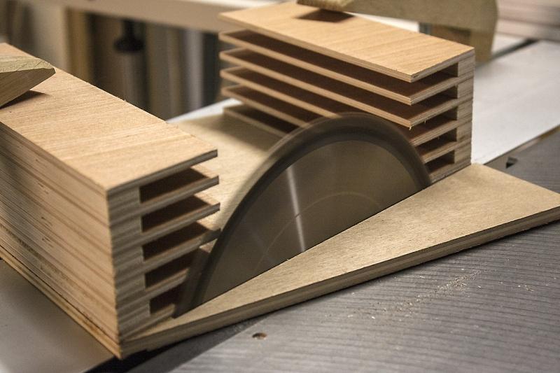 [Fabrication] Range-Lames de scie circulaire Triang10