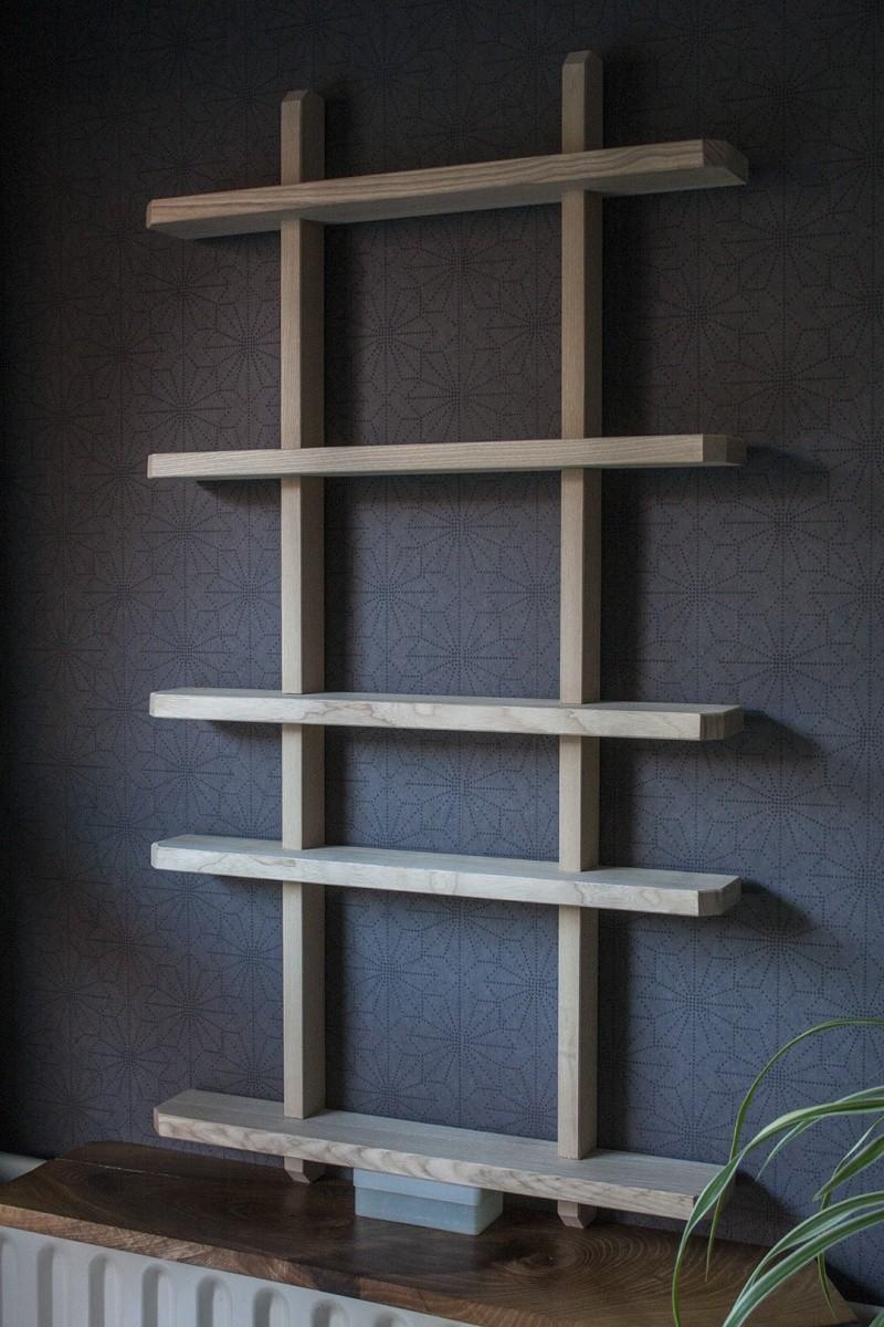 mini fabrication petite etag re murale. Black Bedroom Furniture Sets. Home Design Ideas