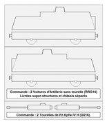 Construction d'une draisine Panzerjäger Triebwagen 51 à l'échelle 1/300°. 14-des10