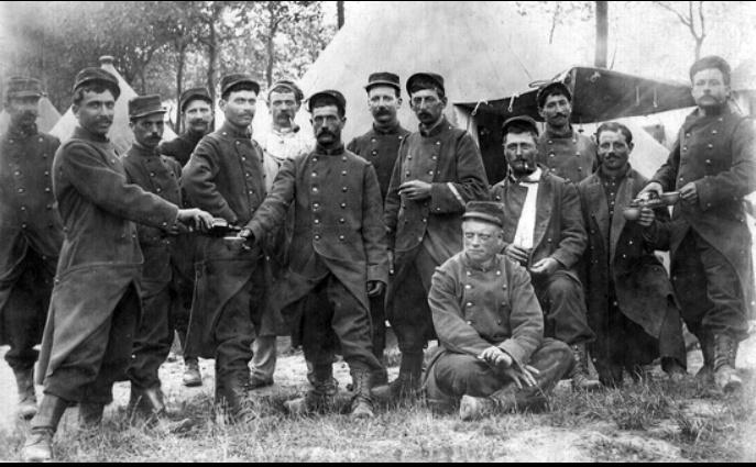 Photos rares de la Grande Guerre, seasons 2. 1610