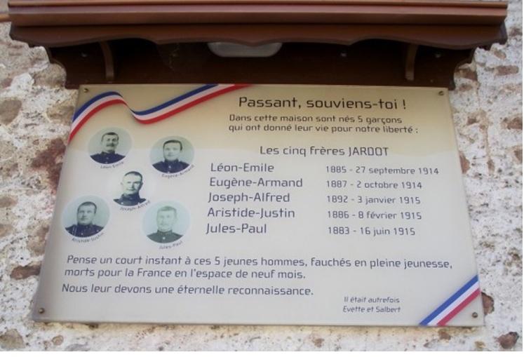 Les fratries décimées pendant la Grande Guerre !!! 5f10