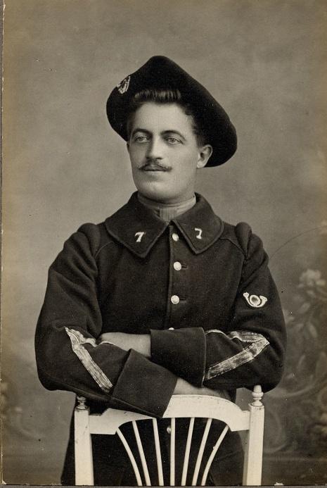 342 photos inédites de la Grande guerre !!! G910