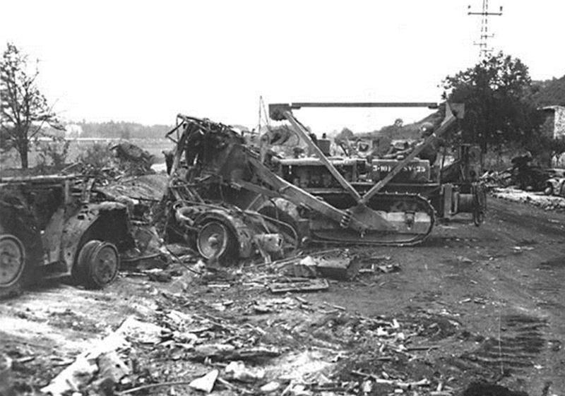 La bataille de Montélimar, août 1944. M1010