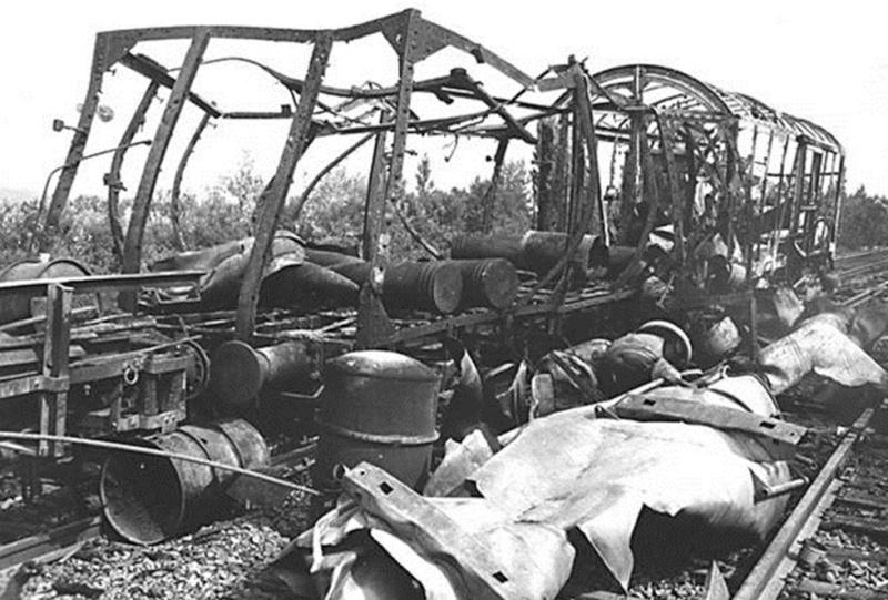 La bataille de Montélimar, août 1944. M1110