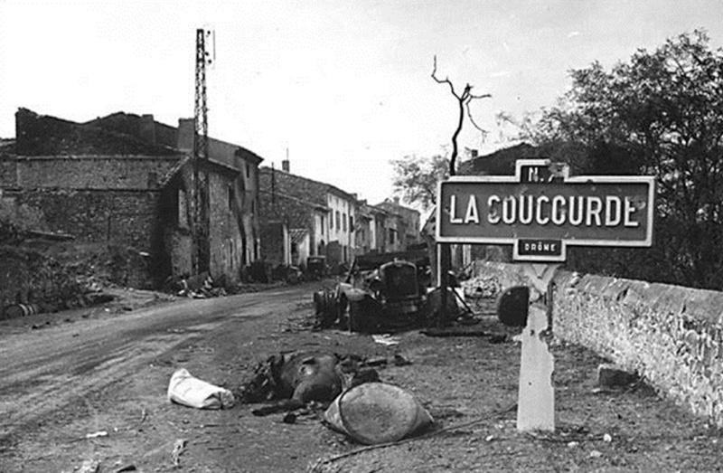 La bataille de Montélimar, août 1944. M1310