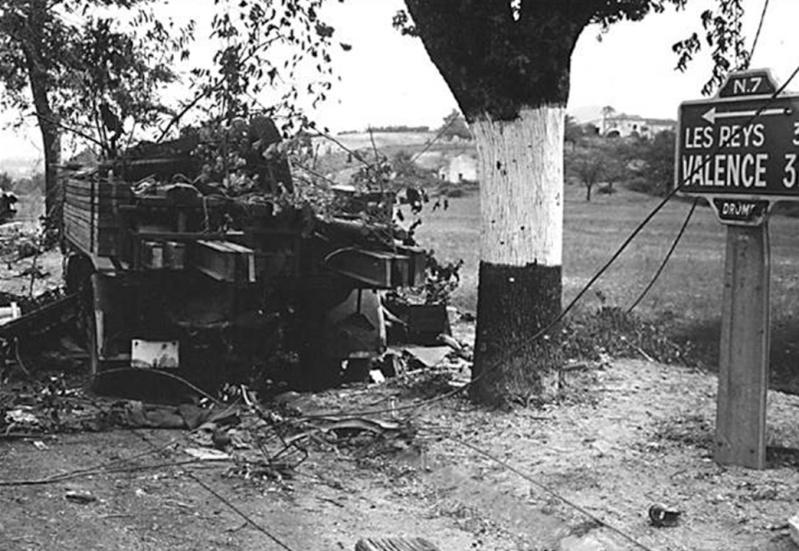 La bataille de Montélimar, août 1944. M1410