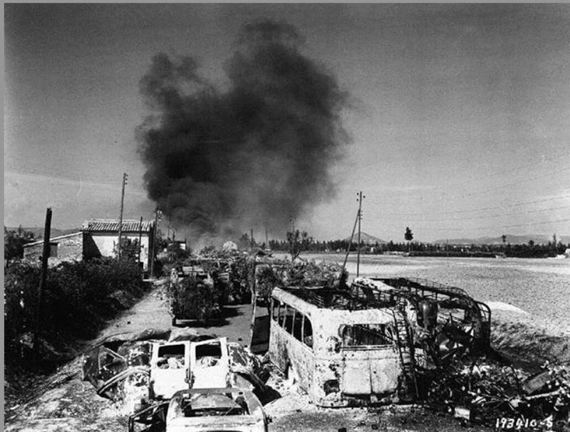 La bataille de Montélimar, août 1944. M210