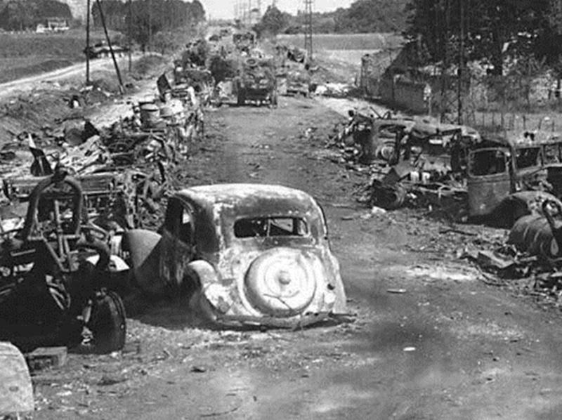 La bataille de Montélimar, août 1944. M410