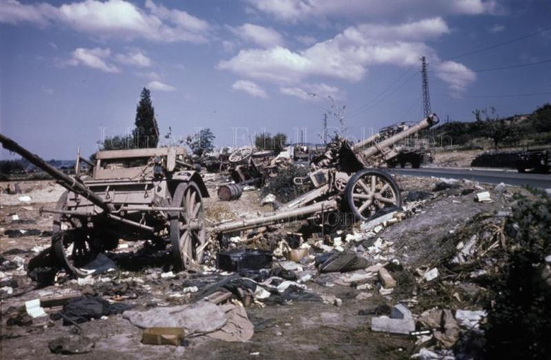 La bataille de Montélimar, août 1944. M4b10