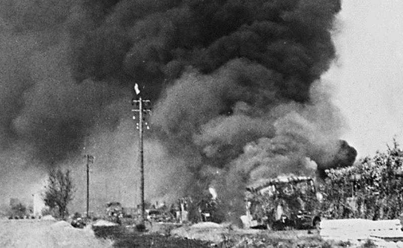 La bataille de Montélimar, août 1944. M5b10
