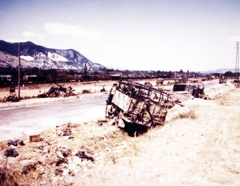 La bataille de Montélimar, août 1944. M610