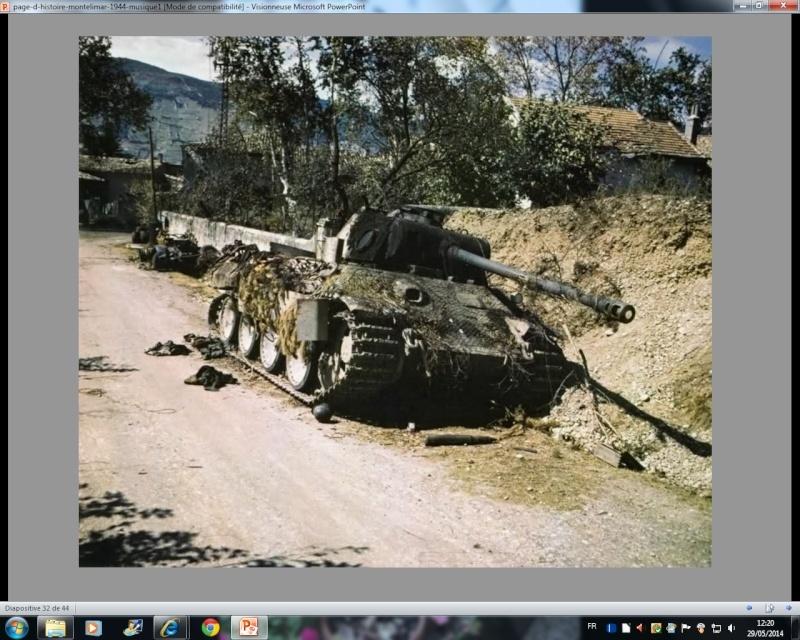 La bataille de Montélimar, août 1944. M6b10
