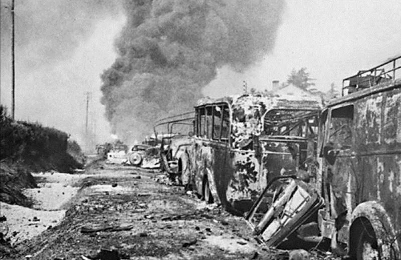 La bataille de Montélimar, août 1944. M6q10