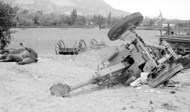 La bataille de Montélimar, août 1944. M6t10
