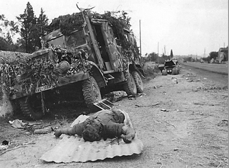 La bataille de Montélimar, août 1944. M910