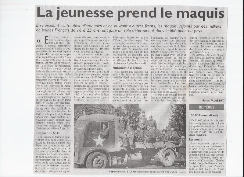 Les maquis et la résistance en France - Page 2 Scan0019