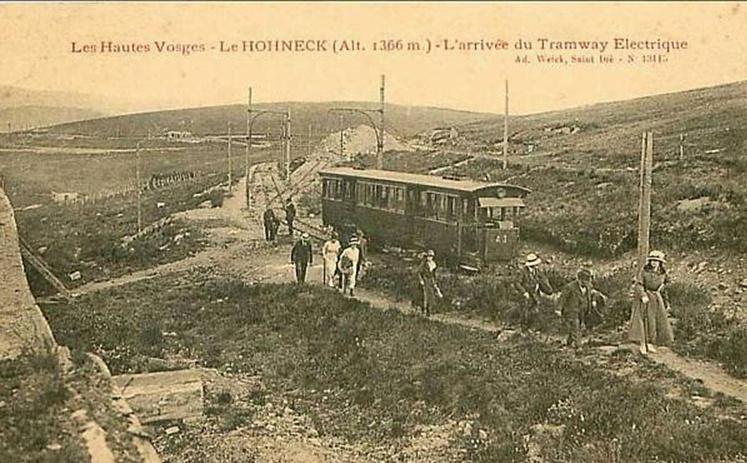 Le tramway du Hohneck. Th10