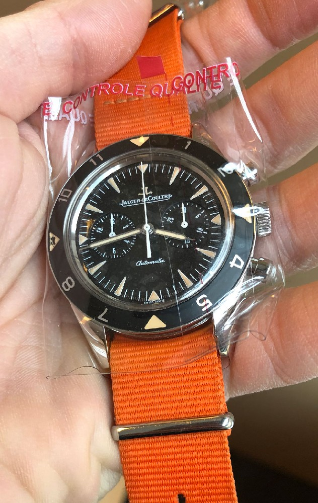 lecoultre - [Baisse de prix][Vends] Jaeger Lecoultre Deep Sea vintage chronograph Image220