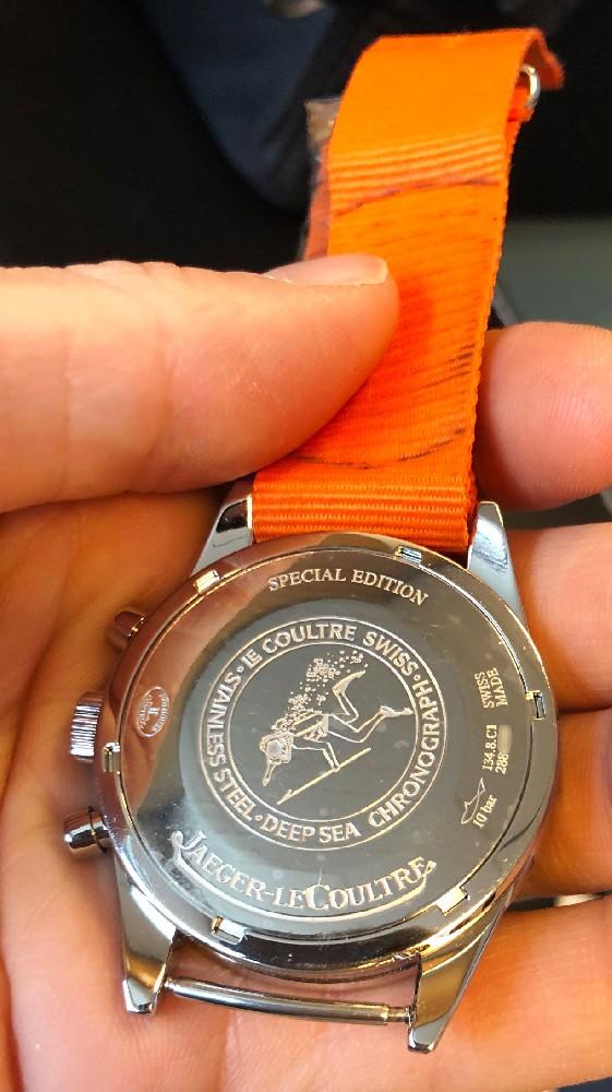 lecoultre - [Baisse de prix][Vends] Jaeger Lecoultre Deep Sea vintage chronograph Image221