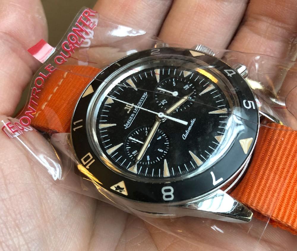lecoultre - [Baisse de prix][Vends] Jaeger Lecoultre Deep Sea vintage chronograph Image225