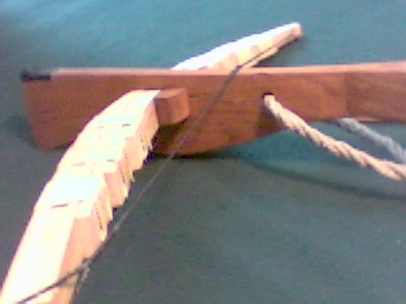 Ming Dynasty Crossbow Replica Bamboo11